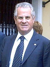 Claudio Scajola in Cogoleto (Genoa)