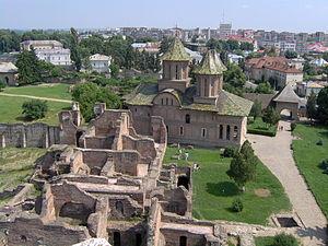 English: The castle of Vlad Tepes (Dracula), T...