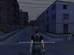 Screenshot of Dead Justice from former company...