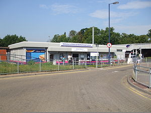English: Elstree & Borehamwood station building