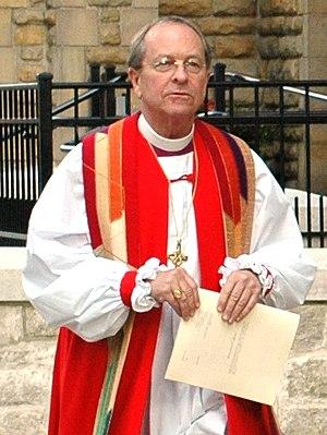 Bishop Gene Robinson of New Hampshire at Trini...