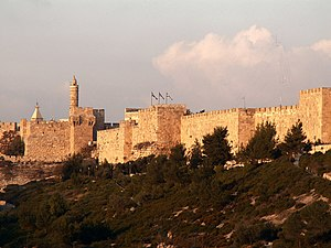 Jerusalem, city wall (west)
