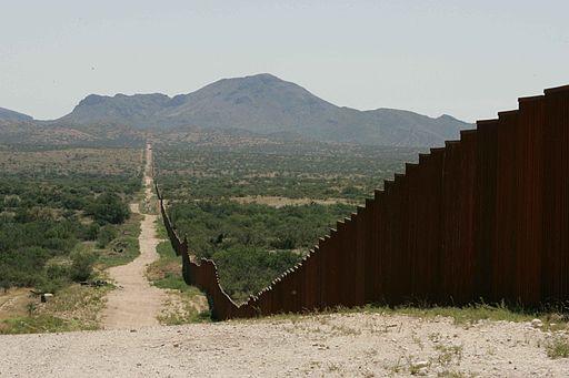 Long border fence