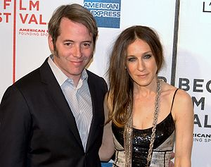 English: Matthew Broderick and Sarah Jessica P...