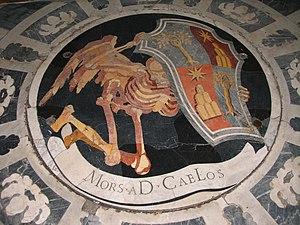Dämonenloch in der Santa Maria del Popolo, Rom...