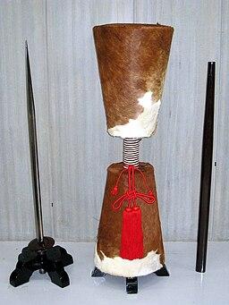 Otegine spear edge with scabbard