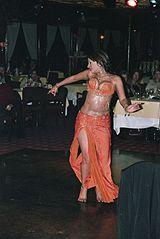 Egyptian bellydancer Randa Kamel