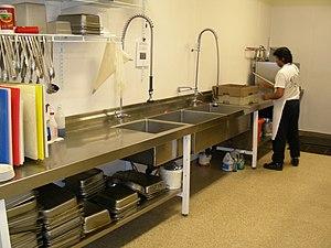 Restaurant dishwashing