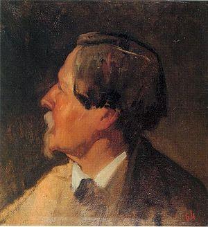 Retrato de Alejo Vera y Estaca realizado por E...