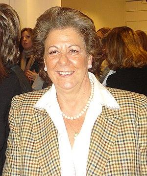 Español: Rita Barbera en unas jornadas del PP ...