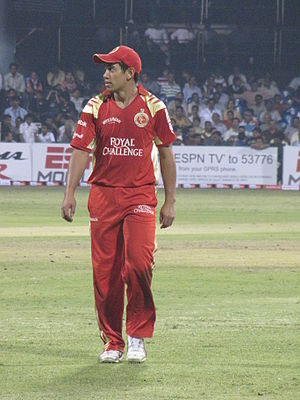 Ross Taylor at Chinnaswamy Stadium, Bangalore....