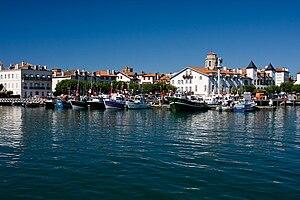 English: Saint-Jean-de-Luz is a fishing port o...