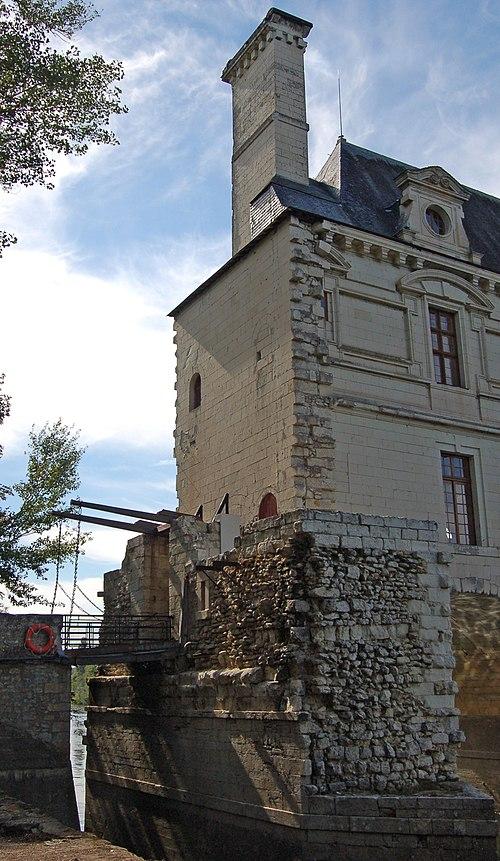 Schloss Chenonceau Suedseite