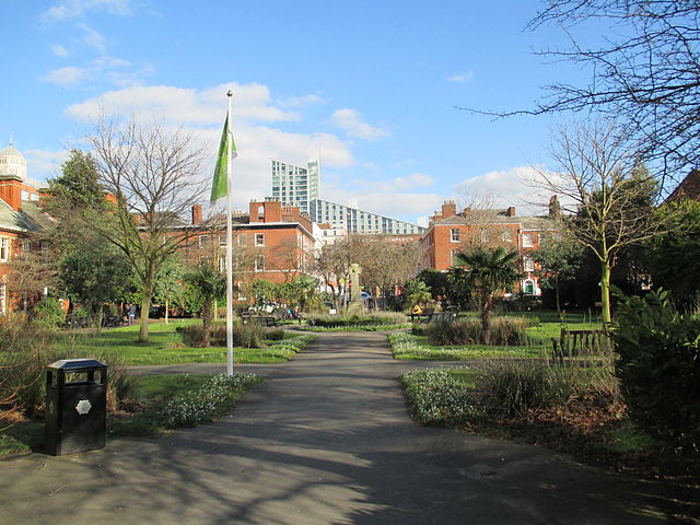 10 places to picnic in Manchester city centre when its sunny   The Urban Wanderer   St John's Garden