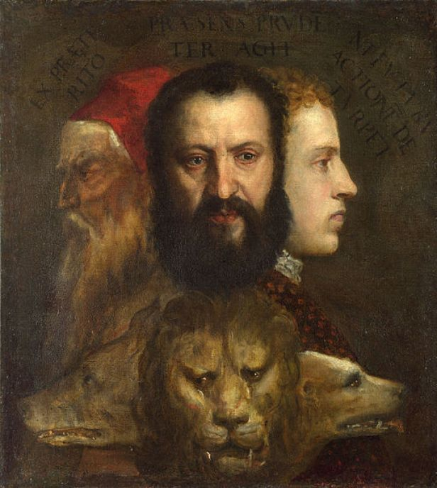"""Allegory of Prudence"" by Titian"