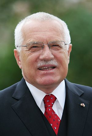 Václav Klaus, president and former prime minis...