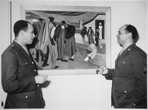 """Sgt. Romare Bearden, noted young Negro a..."