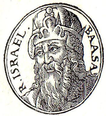 English: Baasha of Israel was the third king o...