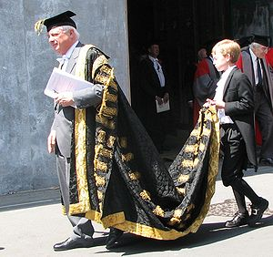 The Lord Patten of Barnes, Chancellor of the U...