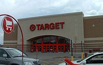 The exterior of a typical Target Store.
