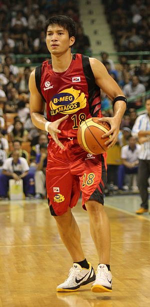 James Yap at the BMEG Llamados game VS Talk N'...
