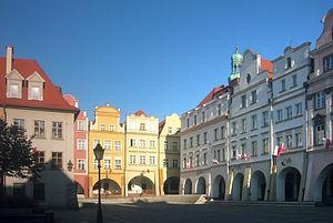Polski: Jelenia Góra, Polska: Plac Ratuszowy D...