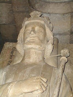 Tomb of Karl Martell in St.Denis/France