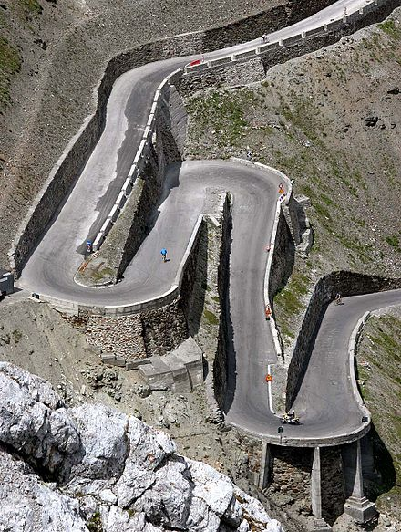 how to drive car or motor bike around a hairpin bend of a - HD944×1250