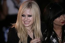 Avril Lavigne saat hadir di acara MuchMusic Video Awards 2007