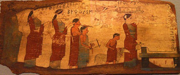 Resultado de imagen de sacrificios en grecia