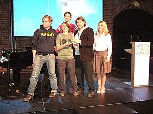 English: Team of German blog Riesenmaschine at...