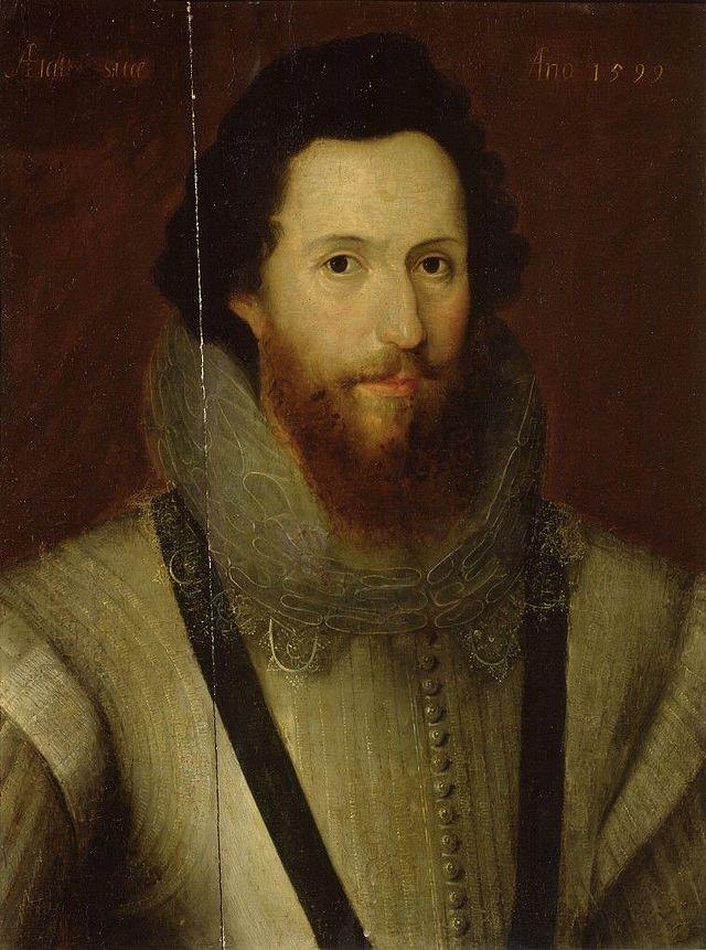 portrait of Robert Devereux, Earl of Essex