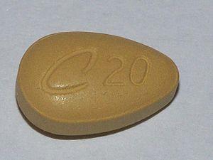 Tadalafil tablet (20 mg)