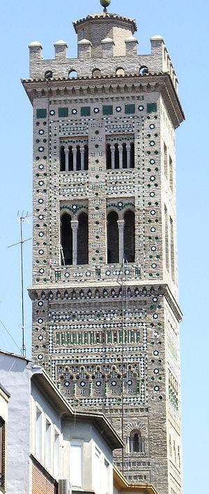 Torre de la Iglesia de la Magdalena (Zaragoza,...
