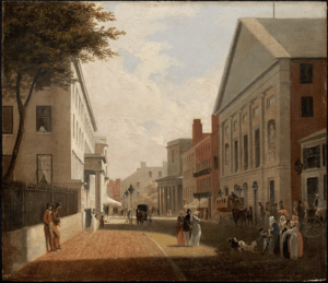 Tremont Street, Boston. about 1843. Philip Har...