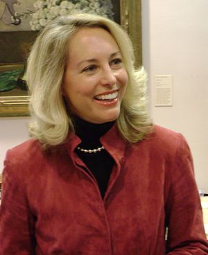 English: Valerie Plame at an event at Moravian...