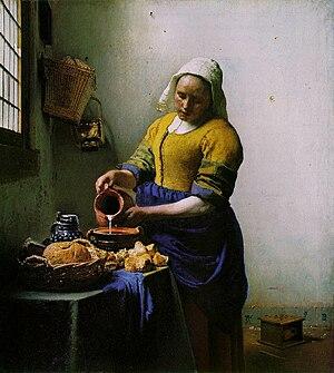 Johannes Vermeer, The Milkmaid (1658–1660)