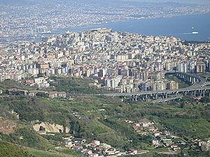 Panorama of Vomero.