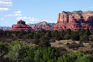 Bell Rock in Sedona, Arizona, USA