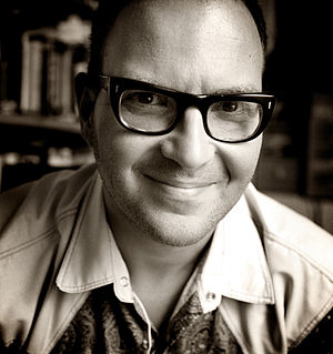 Cory Doctorow, photographed by Jonathan Worth
