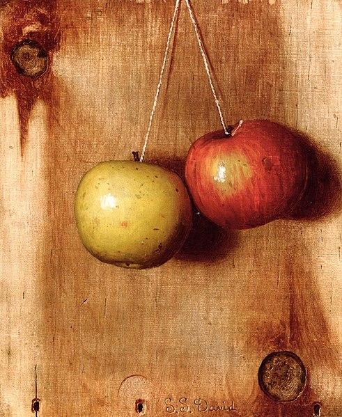 File:DeScott Evans Hanging Apples.jpg