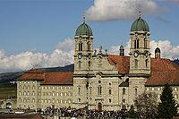 Kloster Einsiedeln am Karfreitag 2005