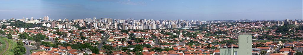 Panorama da Região Central da cidade de Campinas.