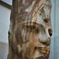 Quartzite Head of the Egyptian Pharaoh Amenhotep III
