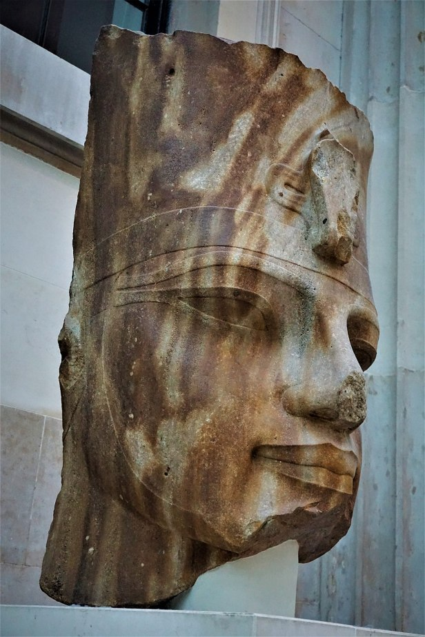 Quartzite Head of the Egyptian Pharaoh Amenhotep III - Joy of Museums