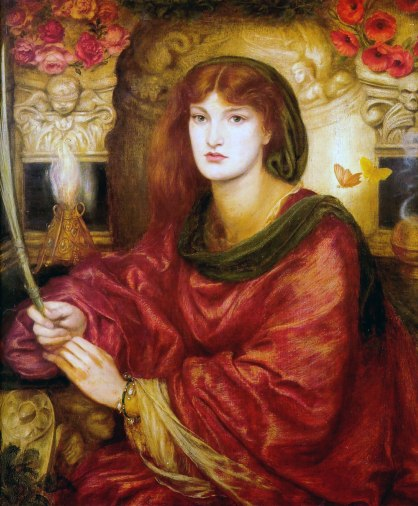 """""""Sibylla Palmifera"""" by Rossetti,"""