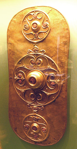 The famous Celtic shield found at Battersea.