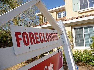Sign of the times - Foreclosure