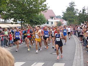 Deutsch: Start des Bodensee-Marathons