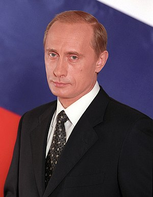 Official portrait of Vladimir Putin Suomi: Vla...